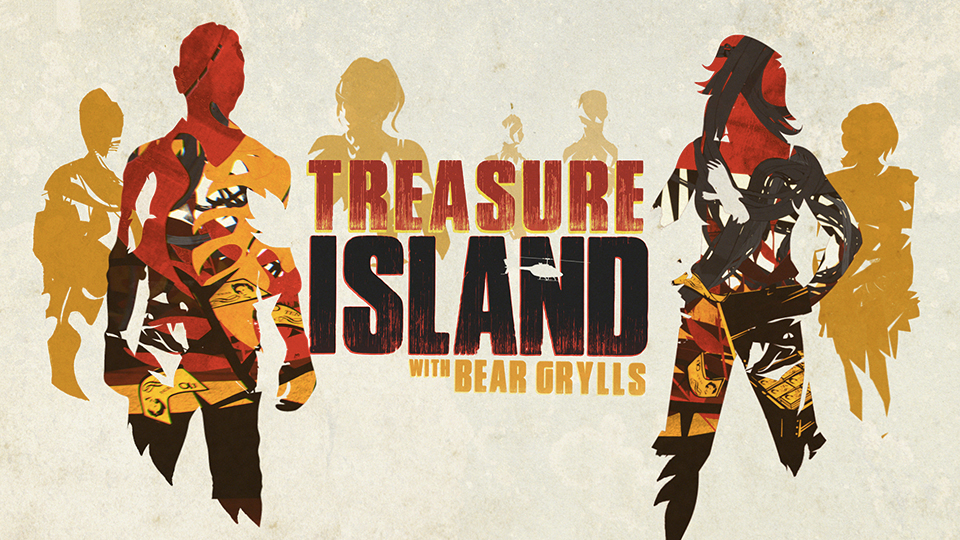 Treasure Island with Bear Grylls logo